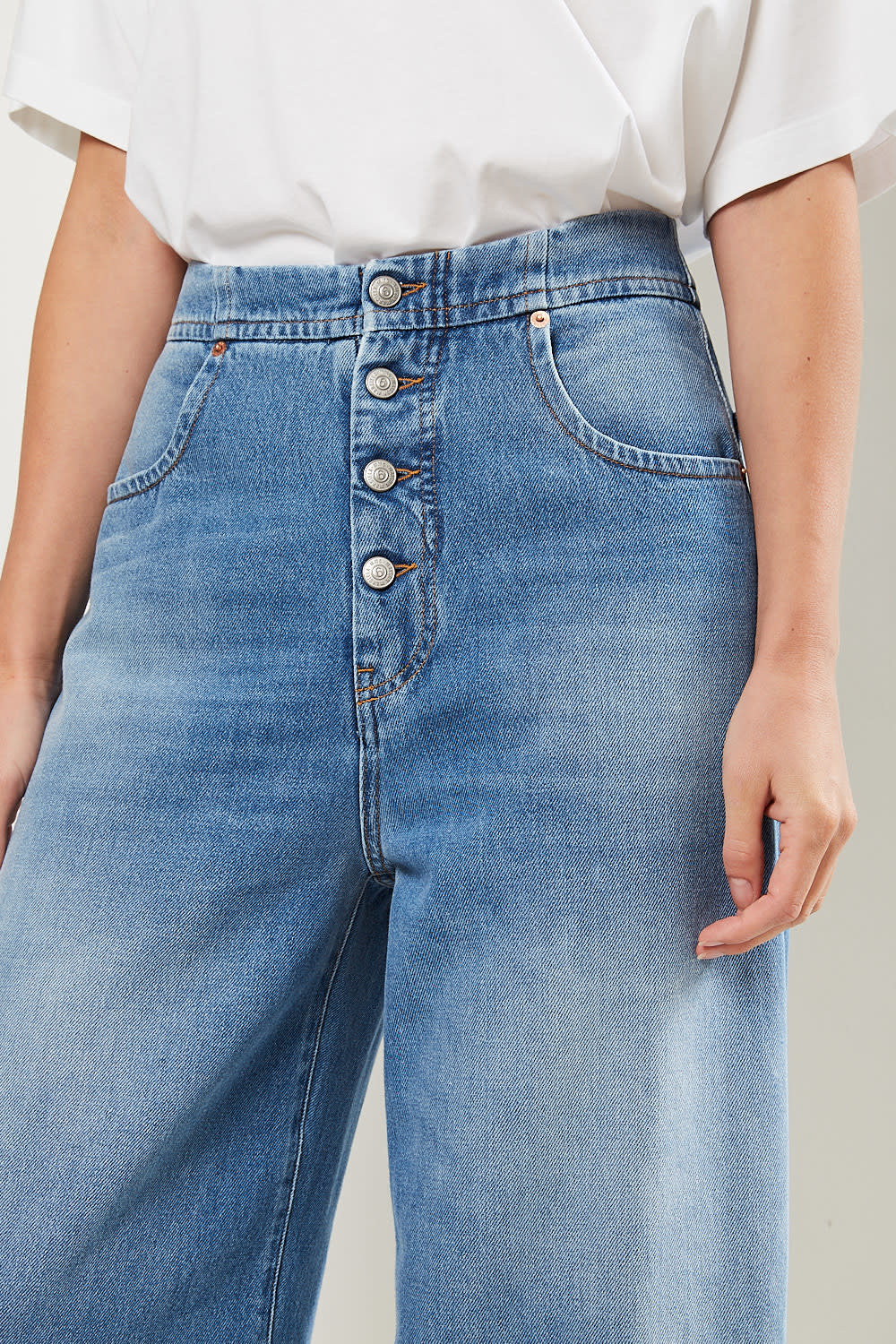 MM6 - Front button jeans MM6