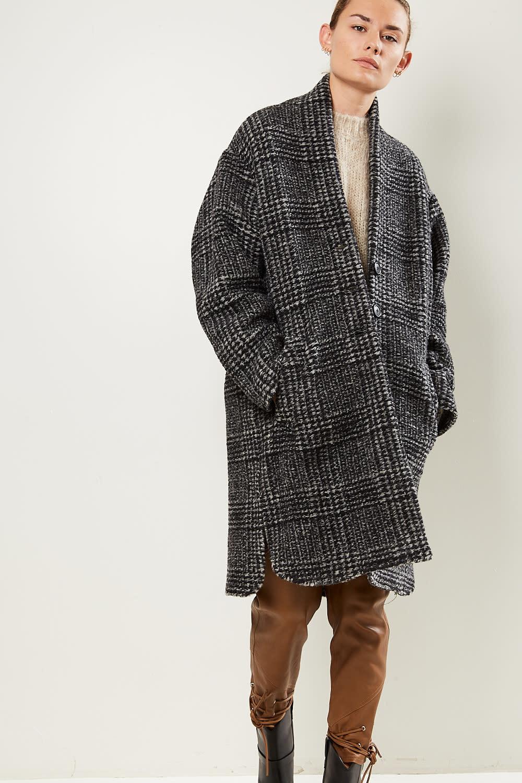 Etoile Isabel Marant Gabriel blanket coat
