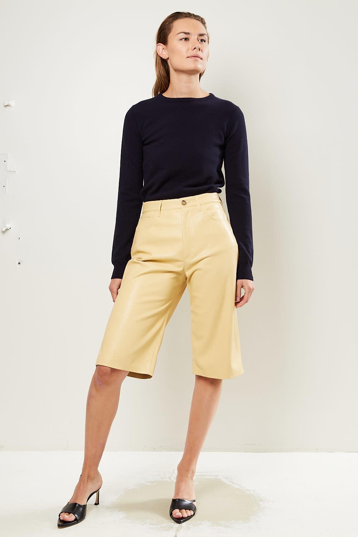 Nanushka - Nampeyo vegan leather shorts