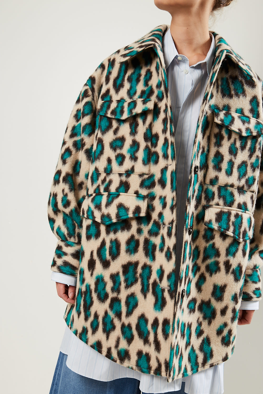 MM6 - Panther print shirt jacket MM6