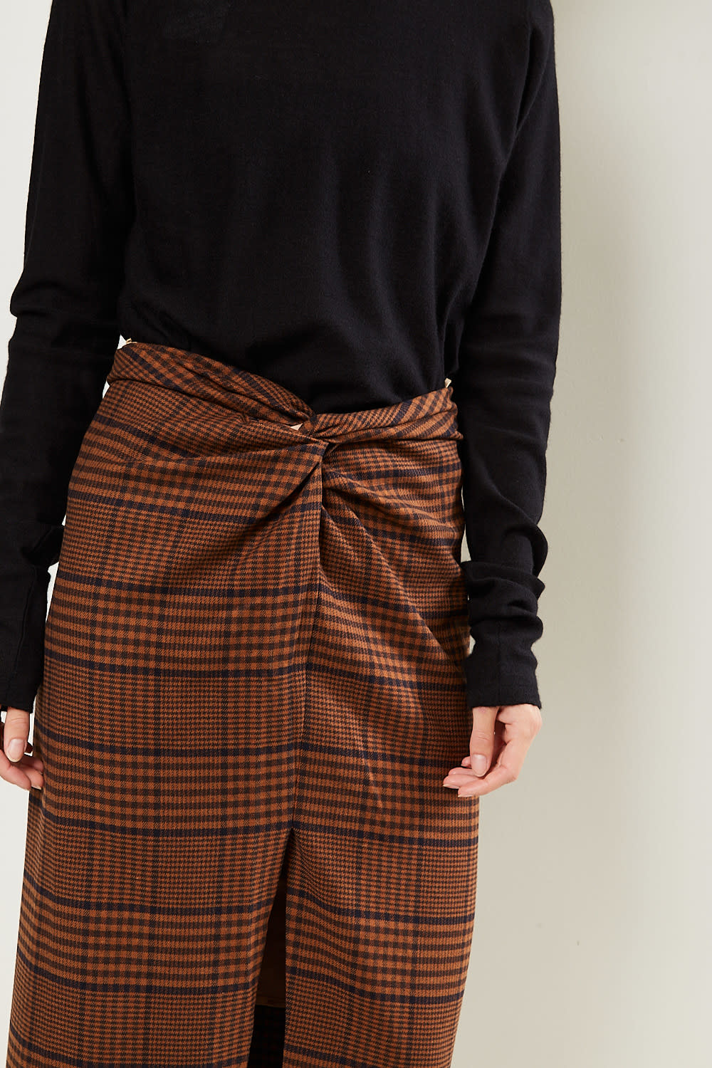 Nanushka - Samara tweed skirt