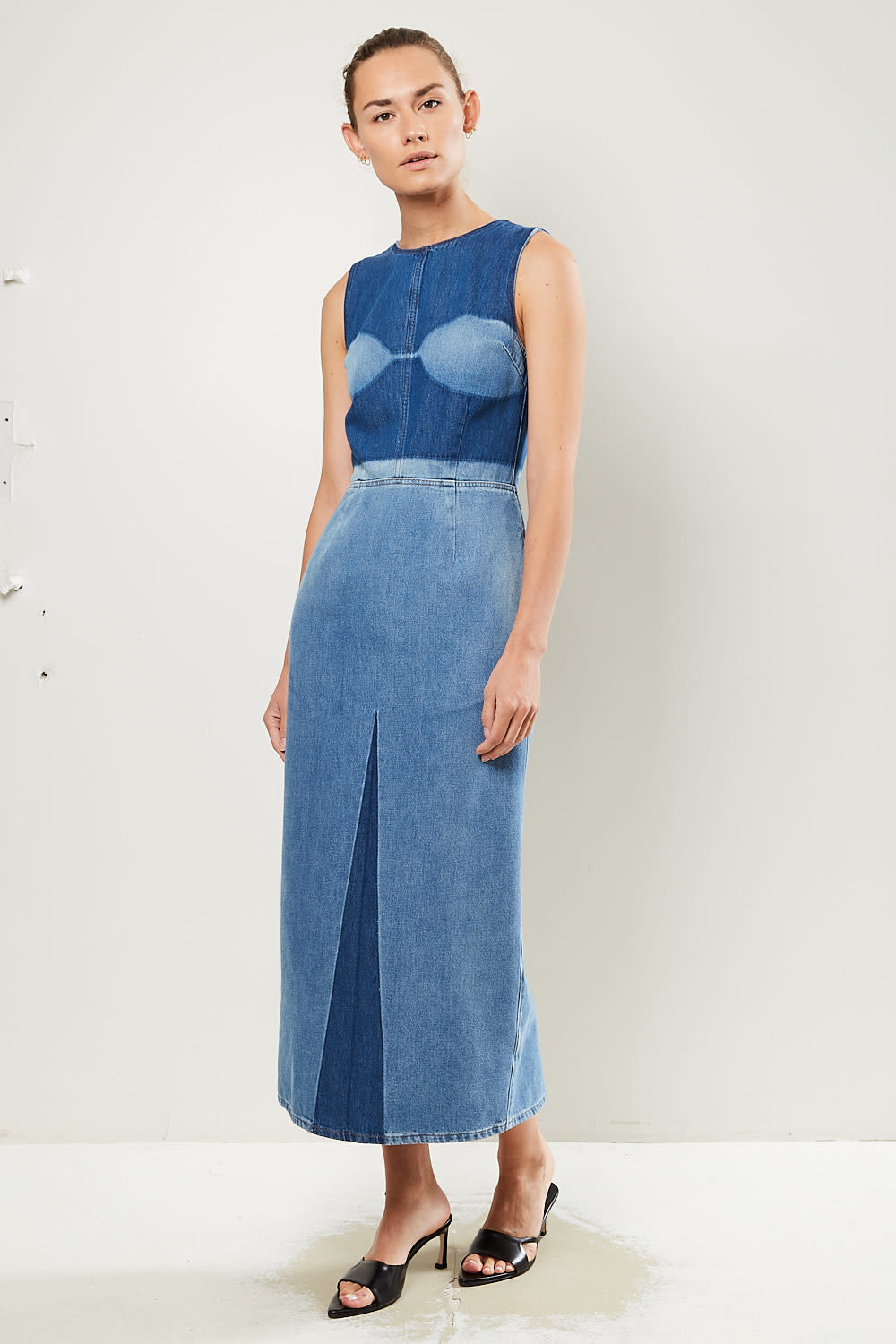 MM6 - Washed jeans dress MM6