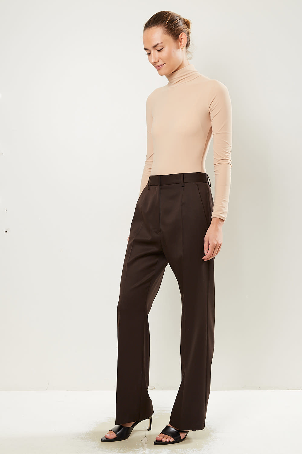 MM6 - Wool blend pants MM6