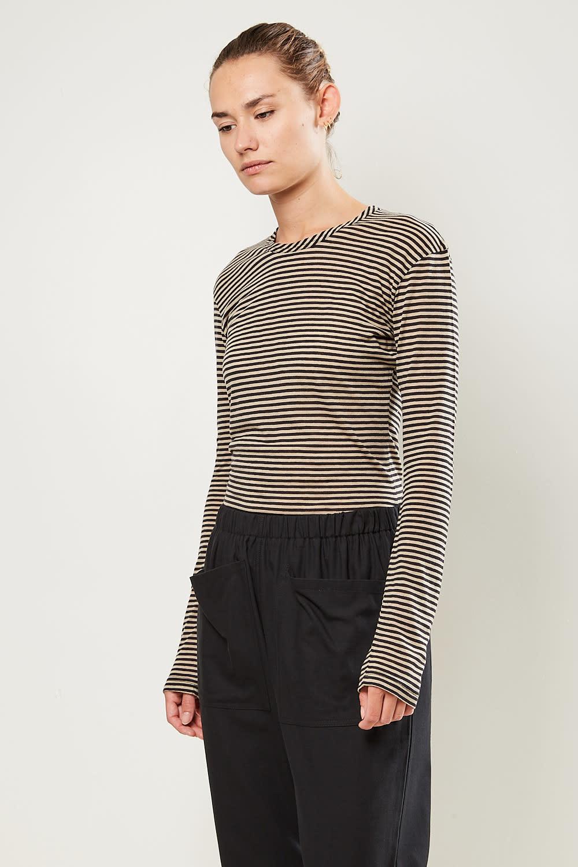 Monique van Heist - Playsuit jersey stripe all in one