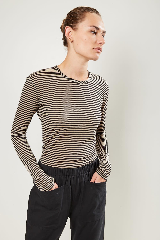 Monique van Heist Playsuit jersey stripe all in one