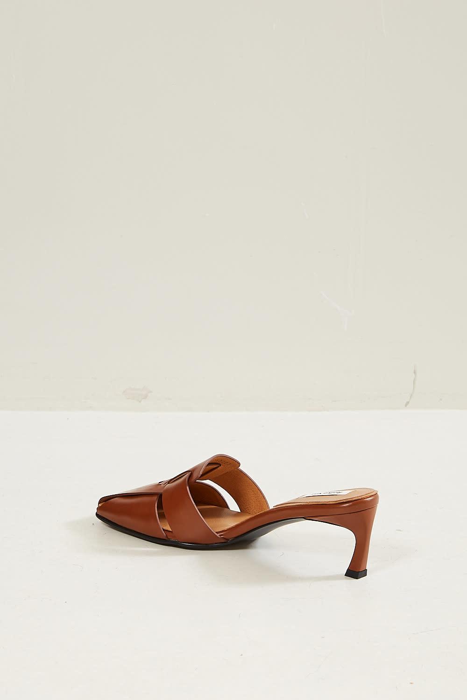 Reike Nen - Woven square heels