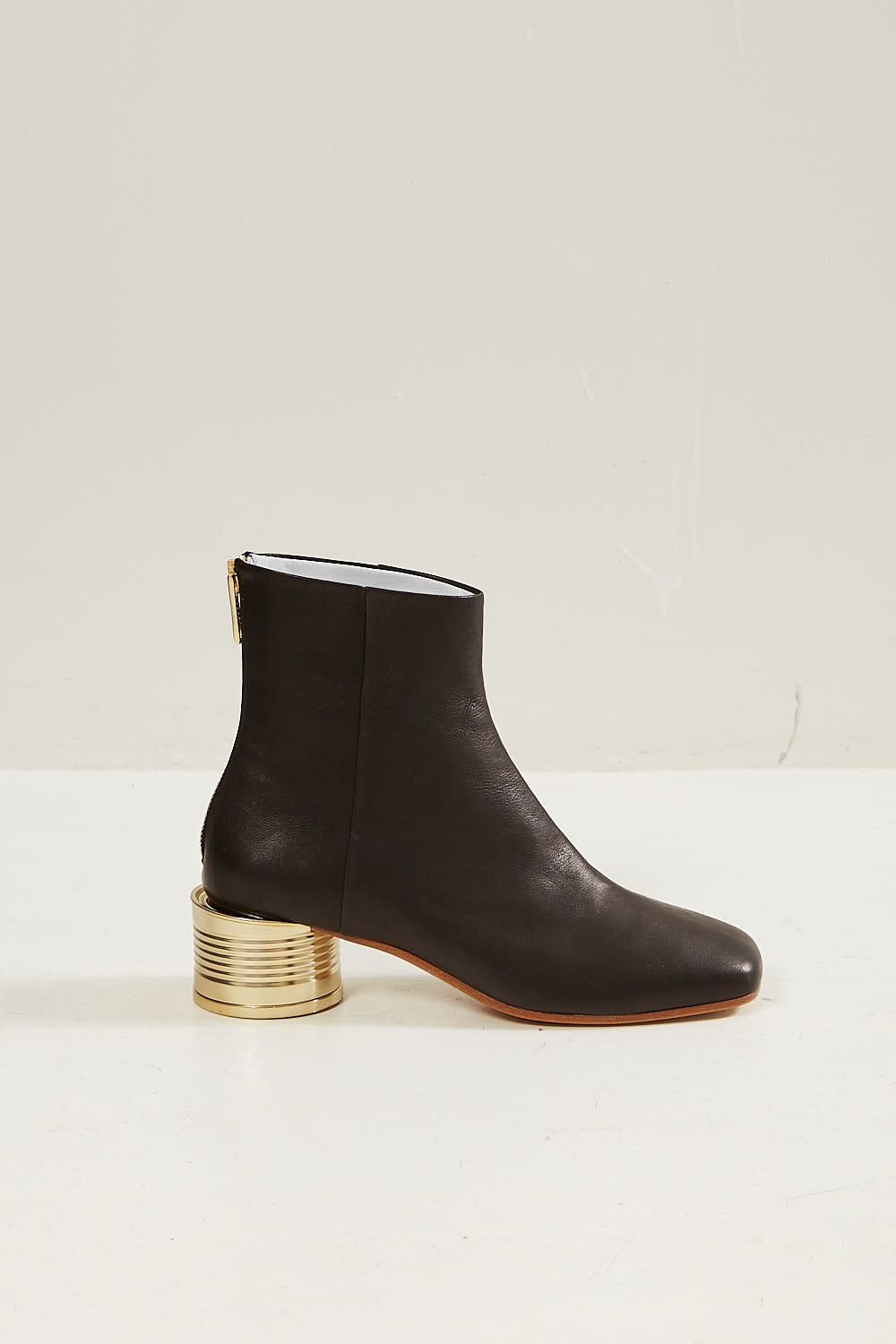 MM6 - Tin can heel ankle boots