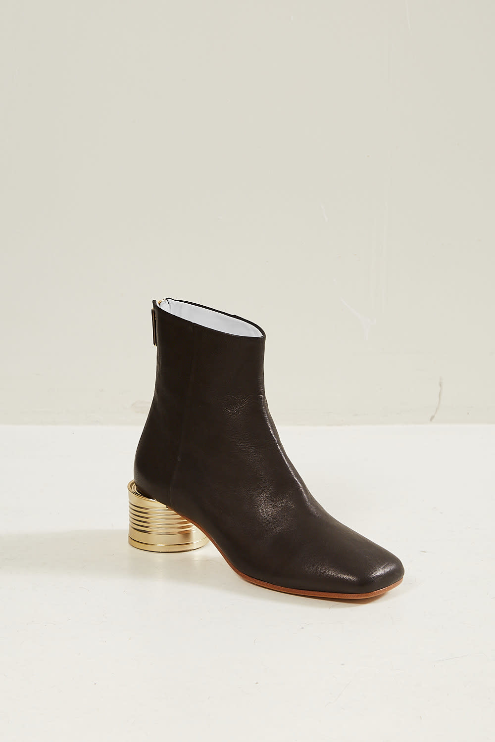 MM6 Tin can heel ankle boots