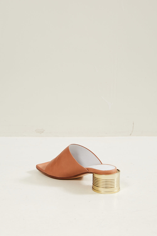 MM6 - Tin can heel sandals