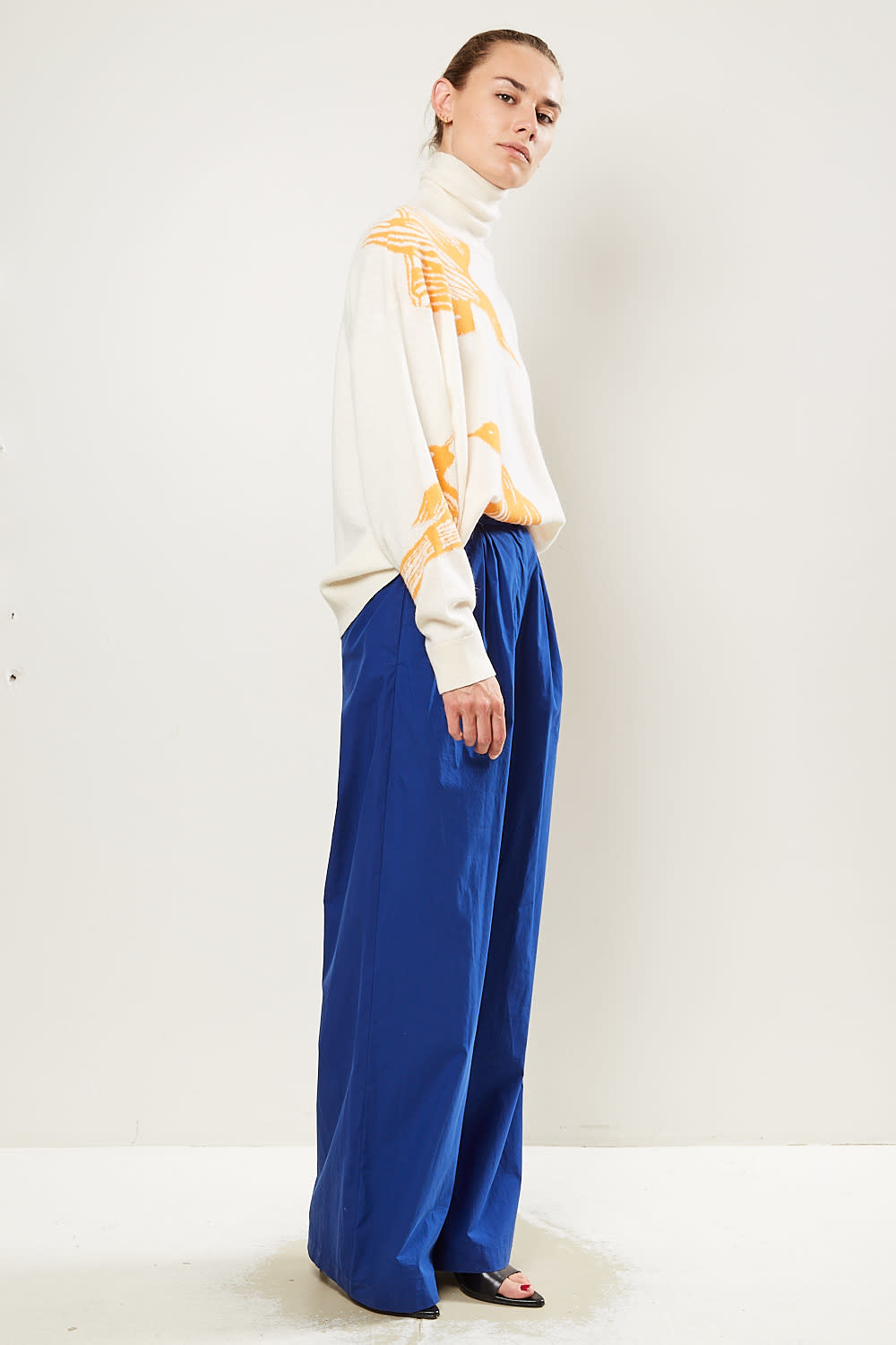 Christian Wijnants - Pamod wide leg trousers.