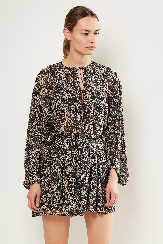 Etoile Isabel Marant Itelo printed georgette skirt