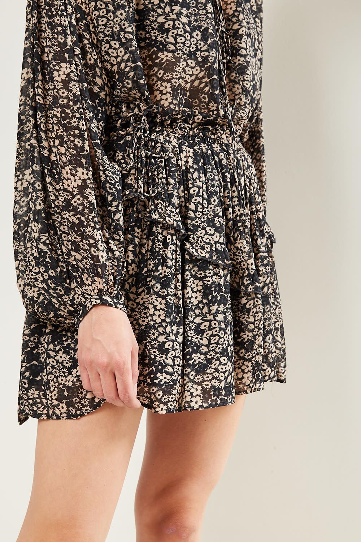Etoile Isabel Marant - Itelo printed georgette skirt