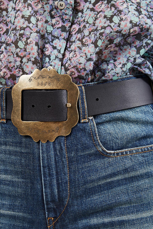Isabel Marant - Lewa large buckle belt