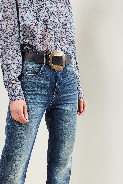Isabel Marant Lewa large buckle belt