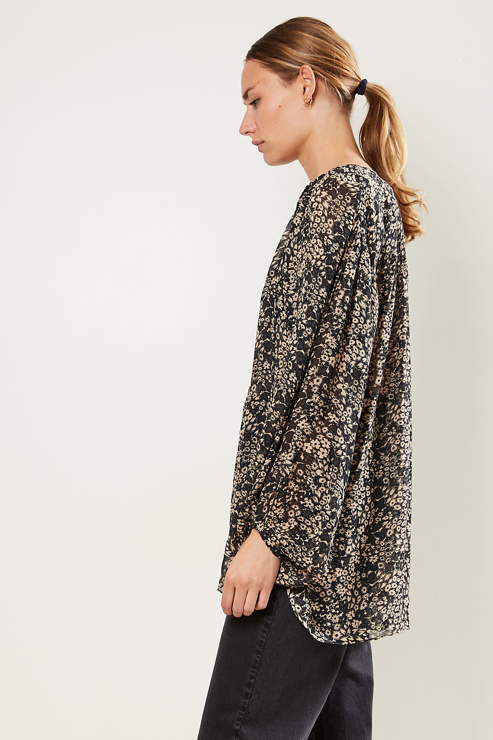 Etoile Isabel Marant - Liliana printed georgette top
