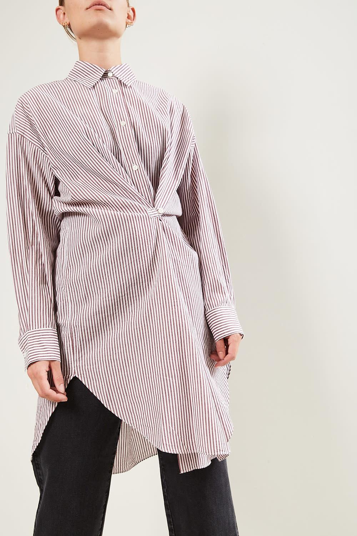 Etoile Isabel Marant Seen striped shirt dress