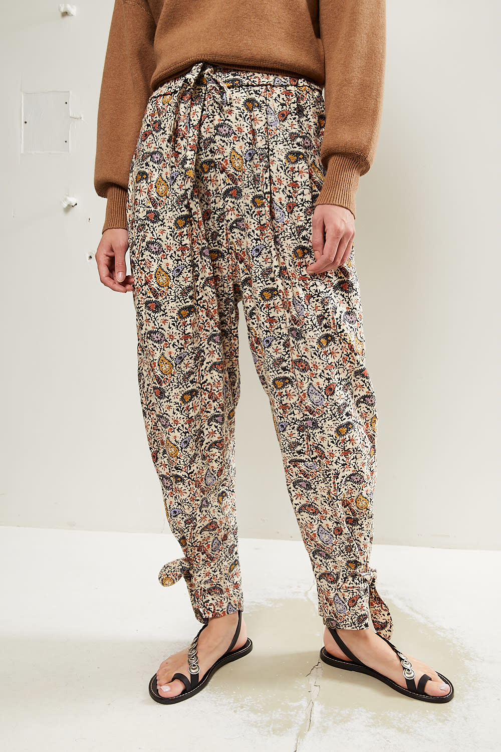 Etoile Isabel Marant - Rexty printed modern trousers