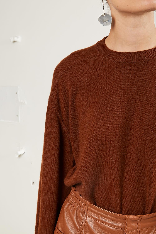 loulou studio - Arutua 100% cashmere pull