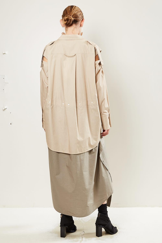Frenken - Blaster poplin cotton dress