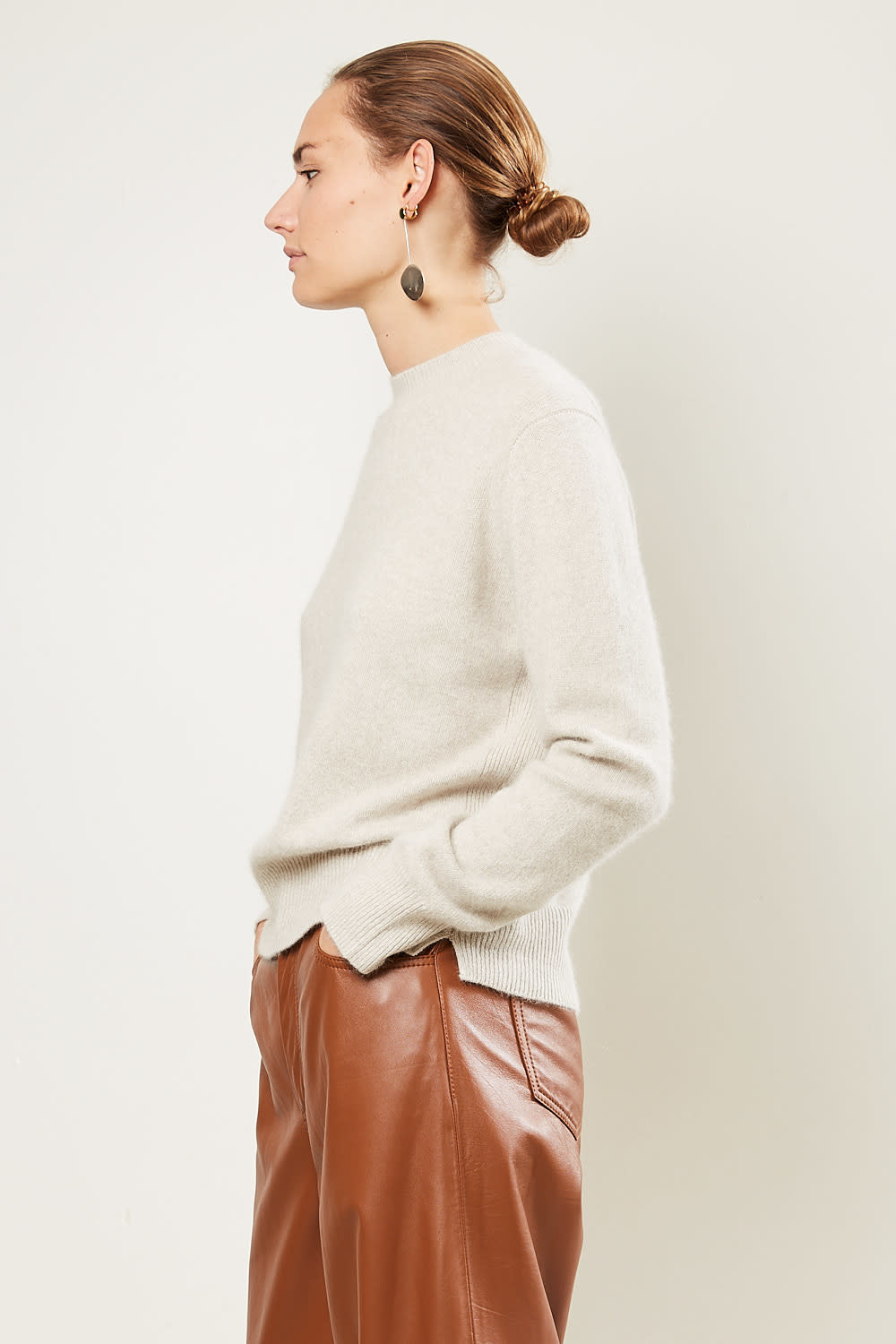 loulou studio - Cavallo wool fox sweater