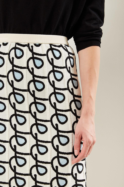 Christian Wijnants - Khira viscose blend skirt
