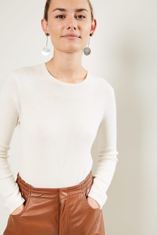 loulou studio Pietra 100% cashmere bodysuit