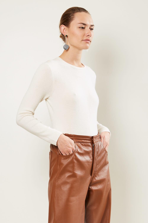 loulou studio - Pietra 100% cashmere bodysuit