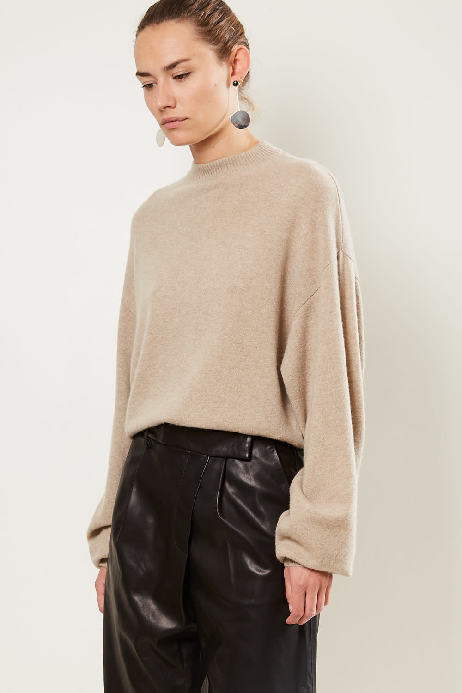 loulou studio Porri 100% cashmere sweater