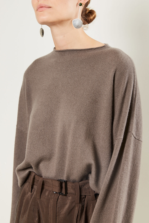 loulou studio - Vacca 100% cashmere sweater