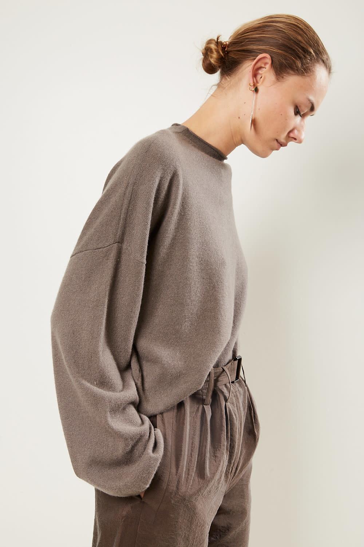 loulou studio Vacca 100% cashmere sweater