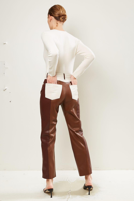 Nanushka - Vinni vegan leather pants