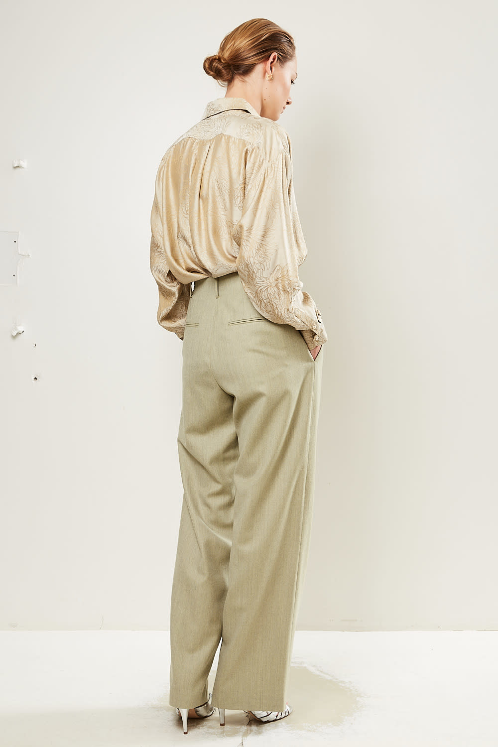 inDRESS - Large 100% wool pants