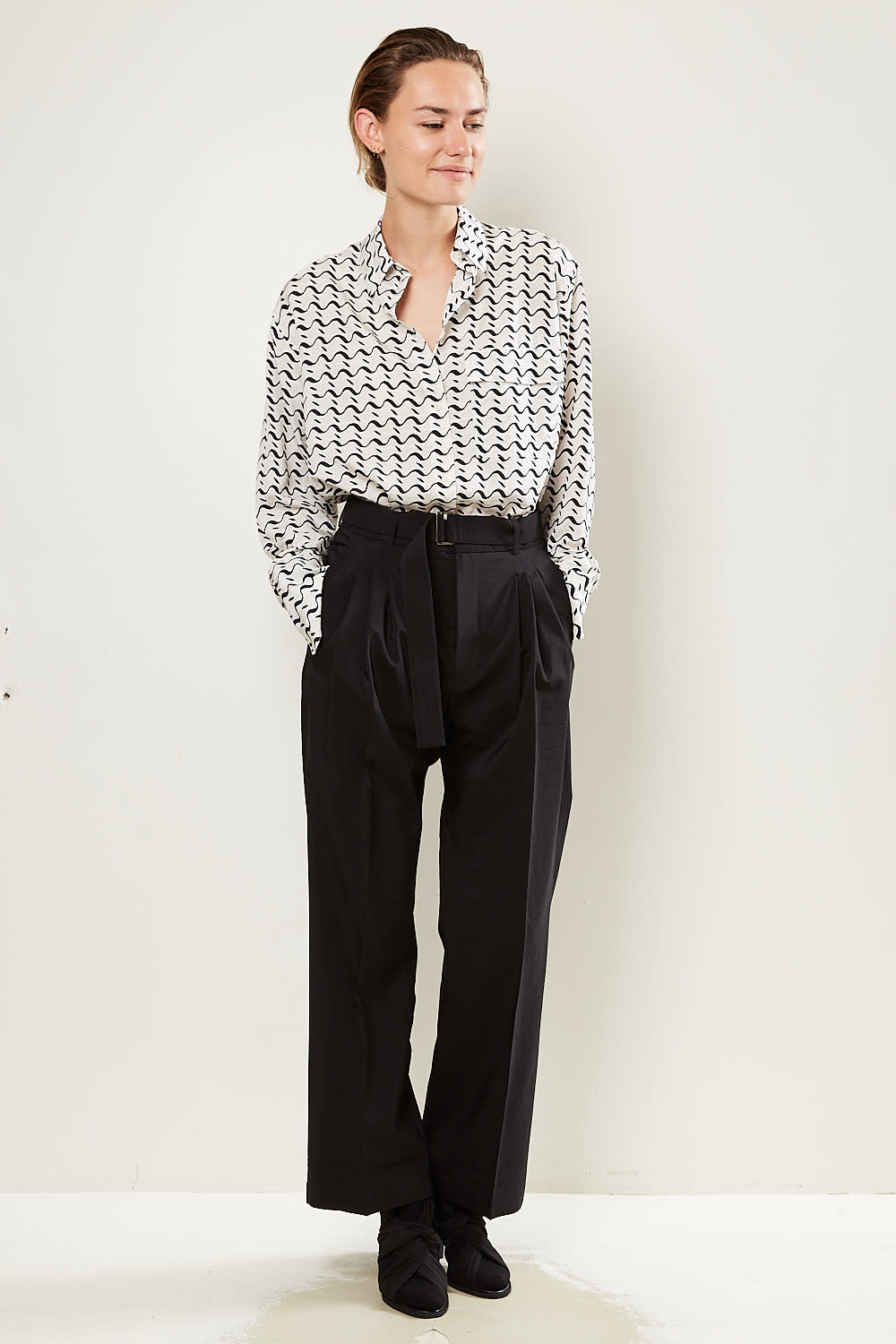 Christian Wijnants - Pendo wide pleated pants