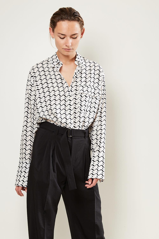 Christian Wijnants - Tumpet oversized shirt