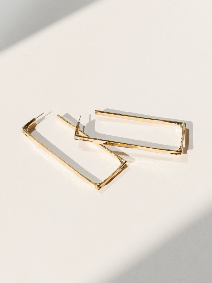 Faris Frame rectangular hoops