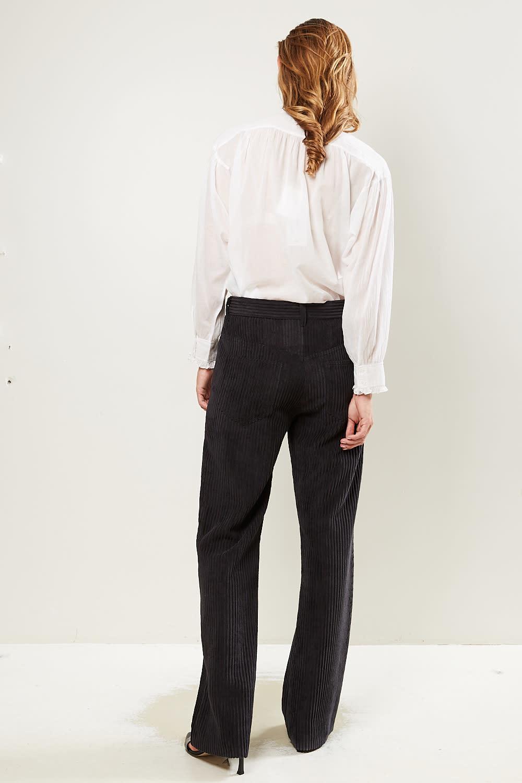 Etoile Isabel Marant - Delvira velvet costard trousers