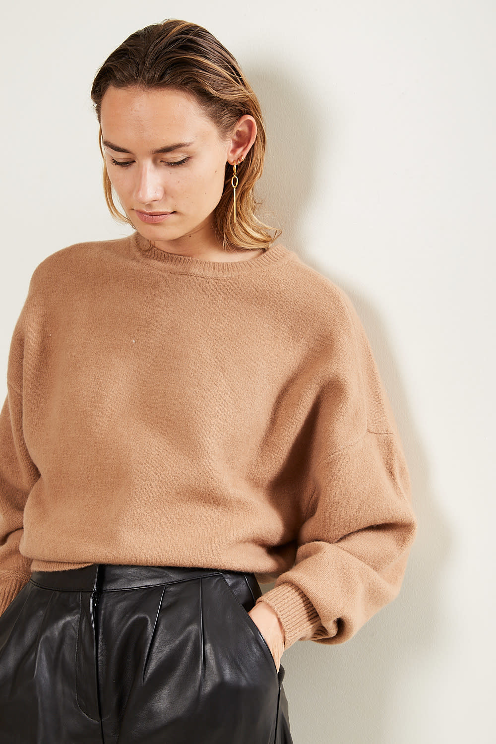 Etoile Isabel Marant Duffy boiled knit sweater