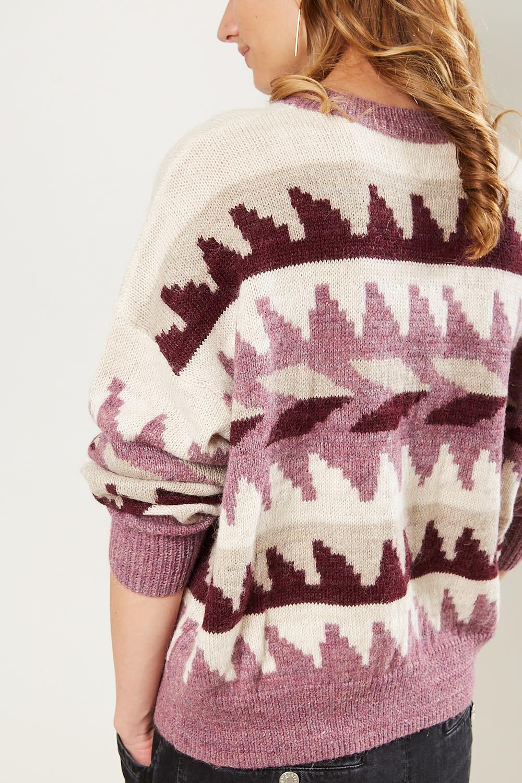 Etoile Isabel Marant - Gatsy graphic alpaca sweater