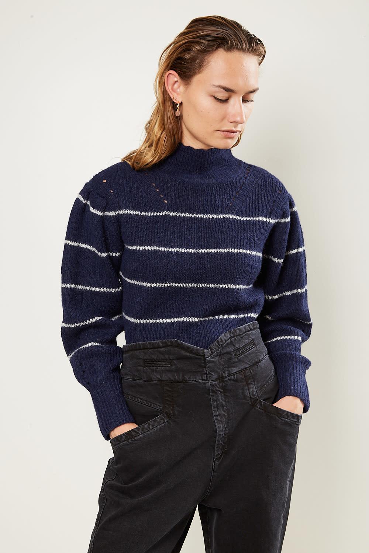 Etoile Isabel Marant Georgia striped alpaca sweater