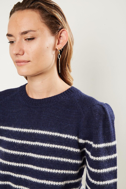 Etoile Isabel Marant - Kleef striped alpaca sweater