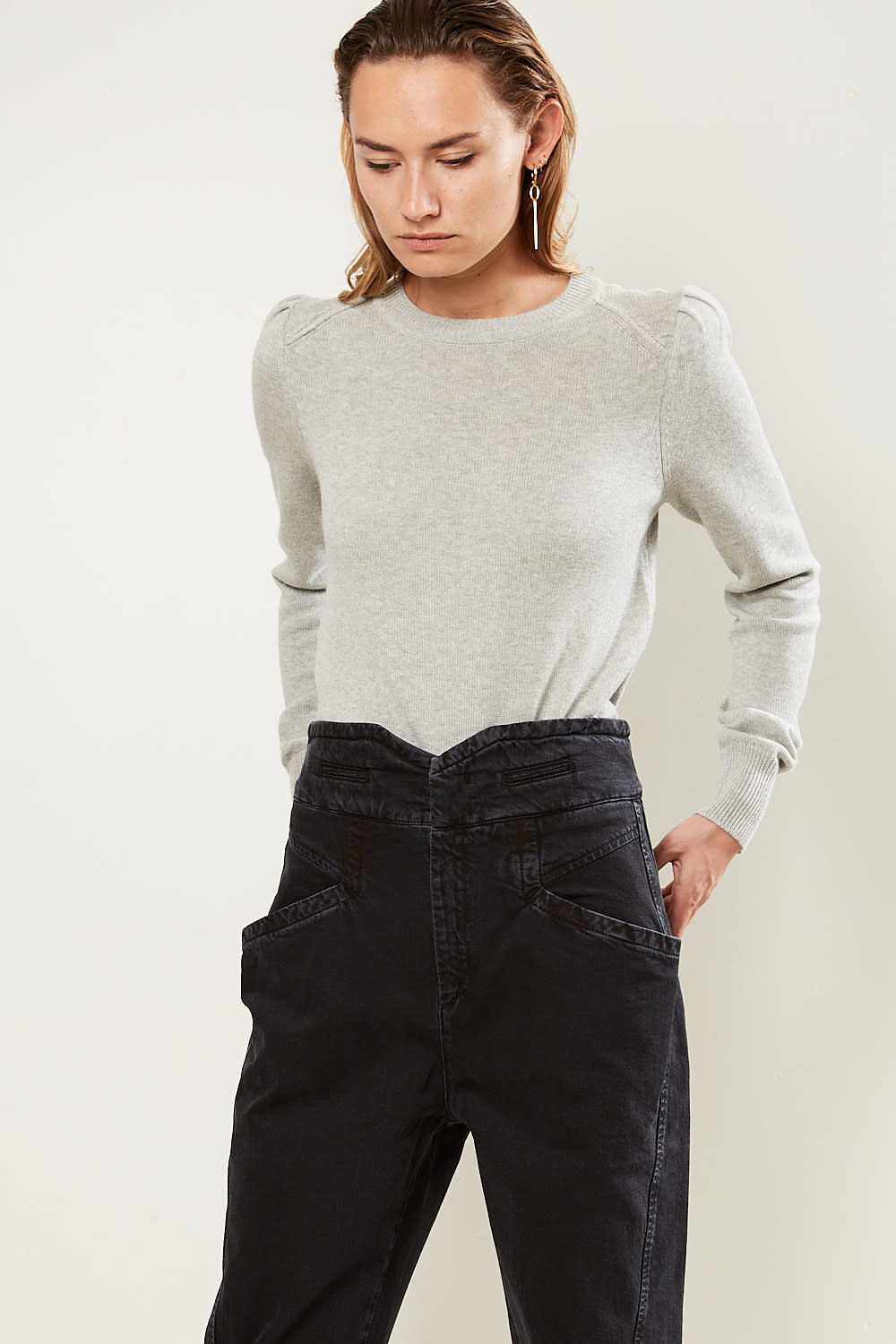Etoile Isabel Marant - Kleely regular knit sweater