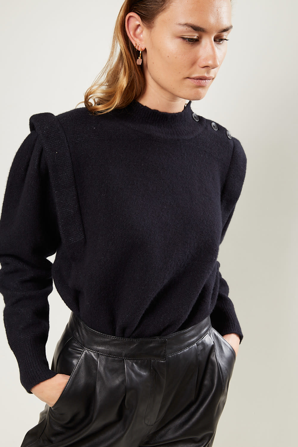 Etoile Isabel Marant Meery boiled knit sweater