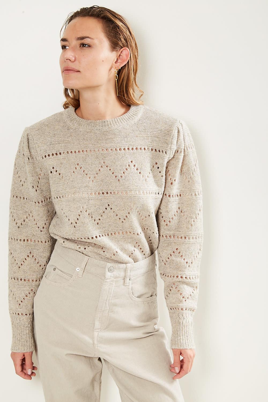 Etoile Isabel Marant Norma shetland knit sweater