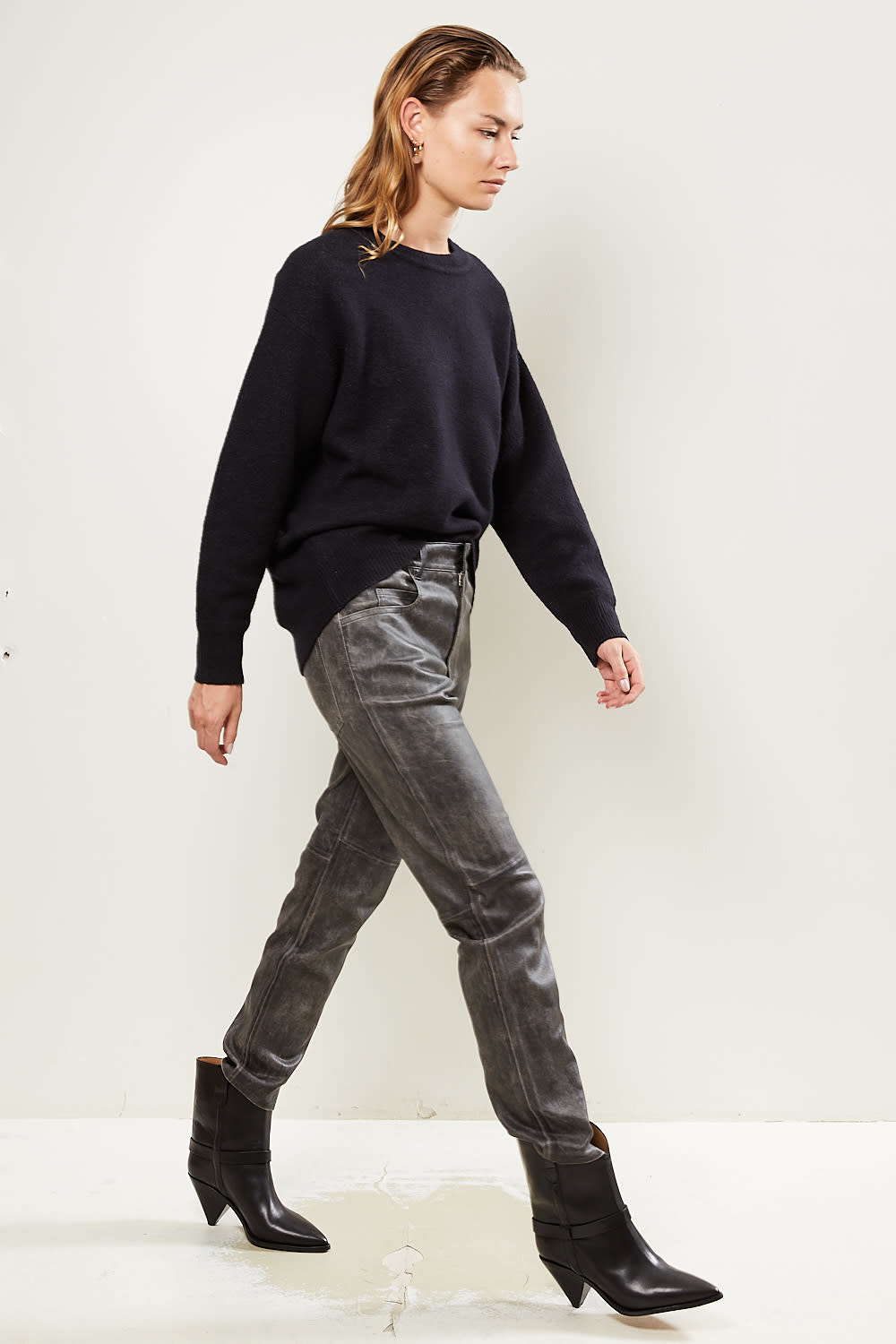Etoile Isabel Marant - Tea easy stretch leather trousers