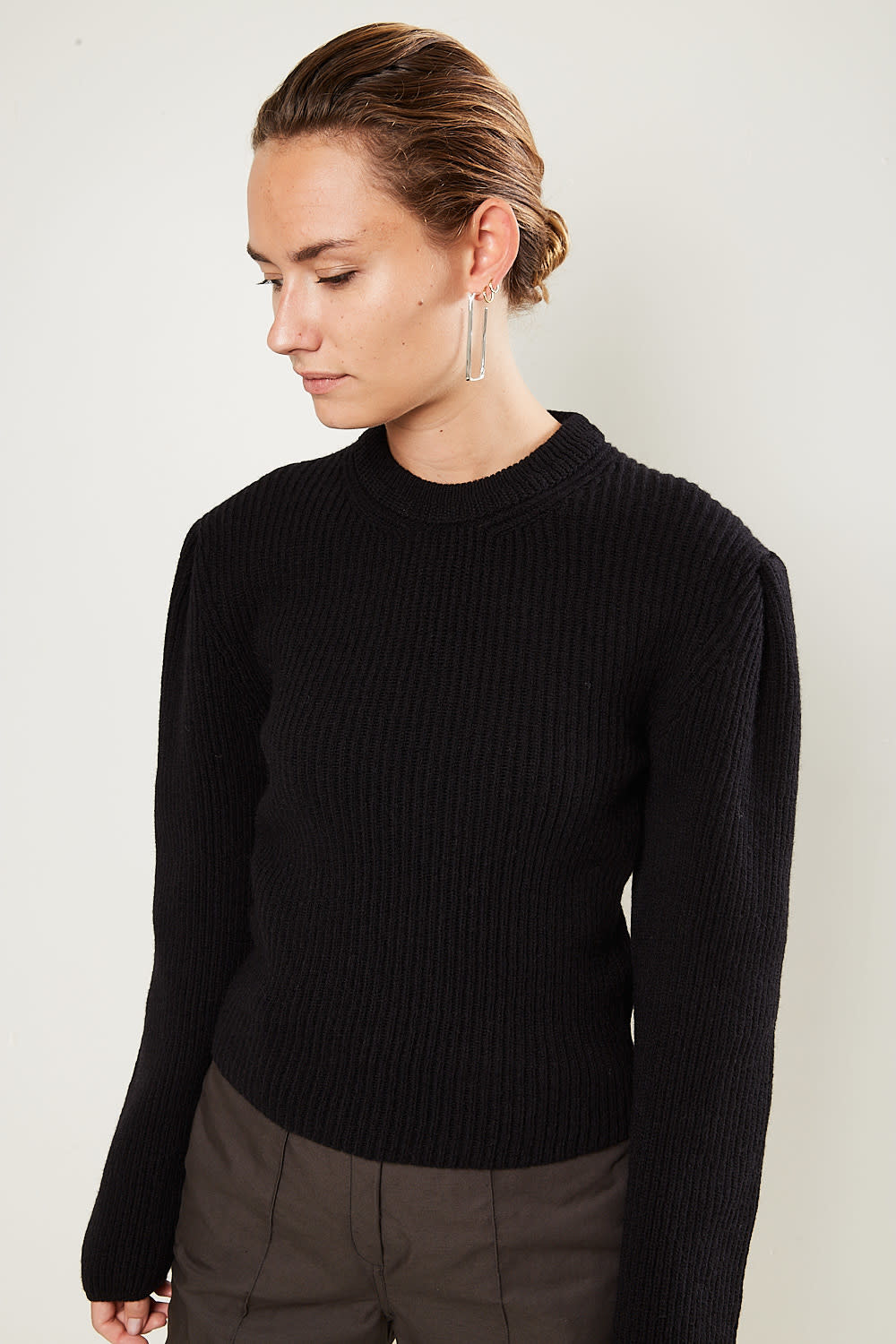 Lemaire - Puffy sleeves sweater