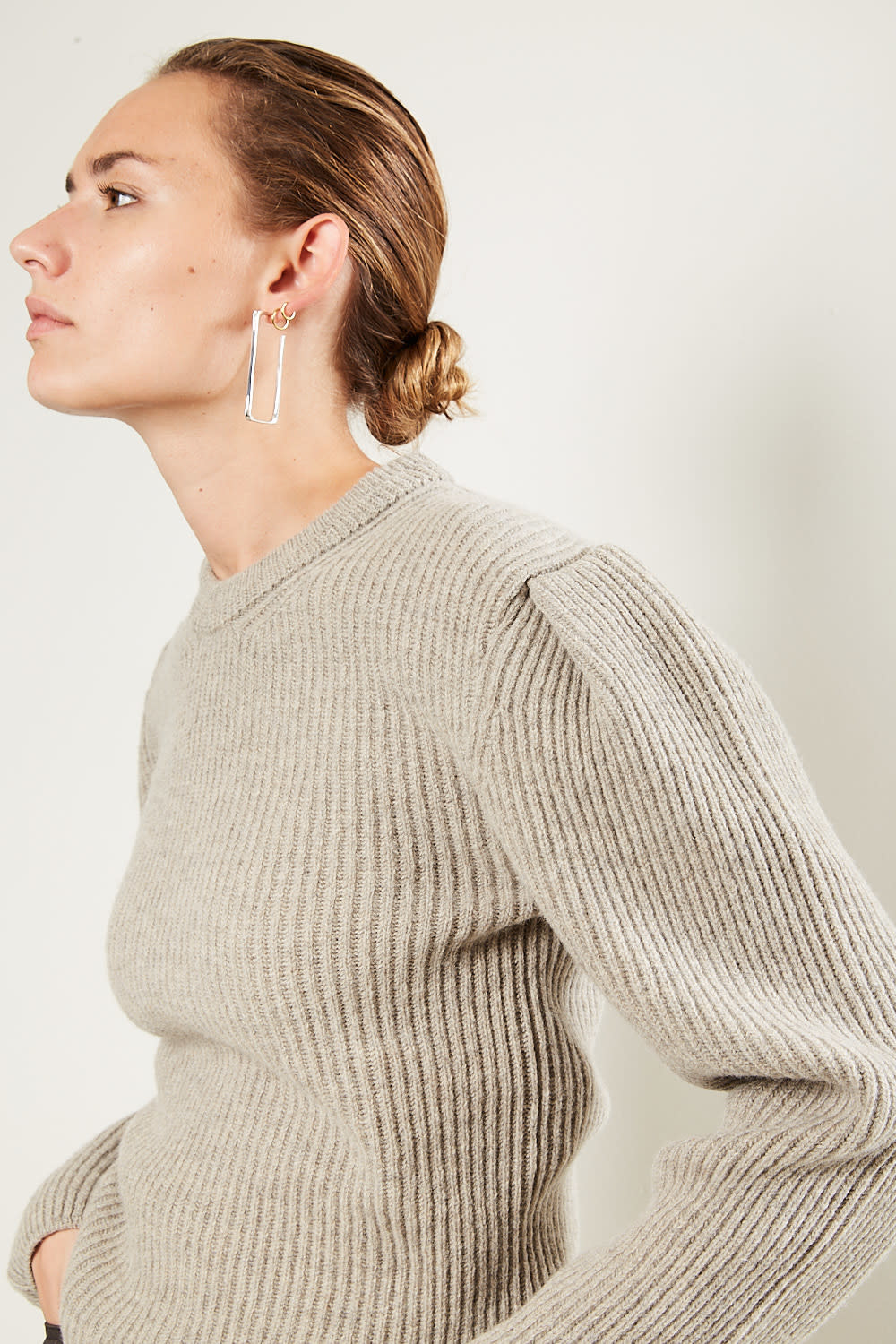 Lemaire Puffy sleeves sweater
