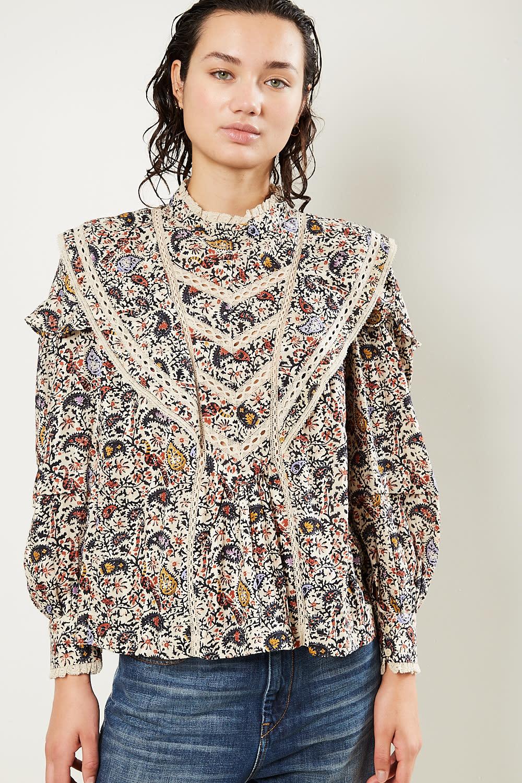 Etoile Isabel Marant - Reign printed modern top