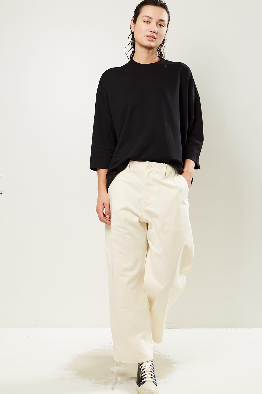 Sofie d'Hoore - Perugino matte satin cotton trousers
