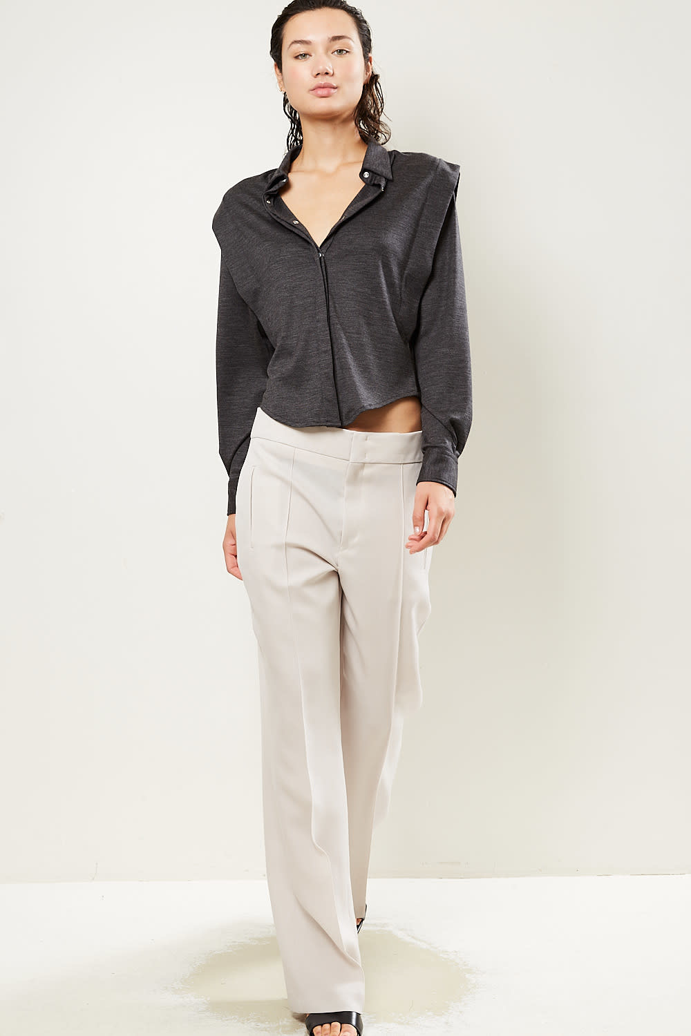 Isabel Marant Lokia chic costard trousers