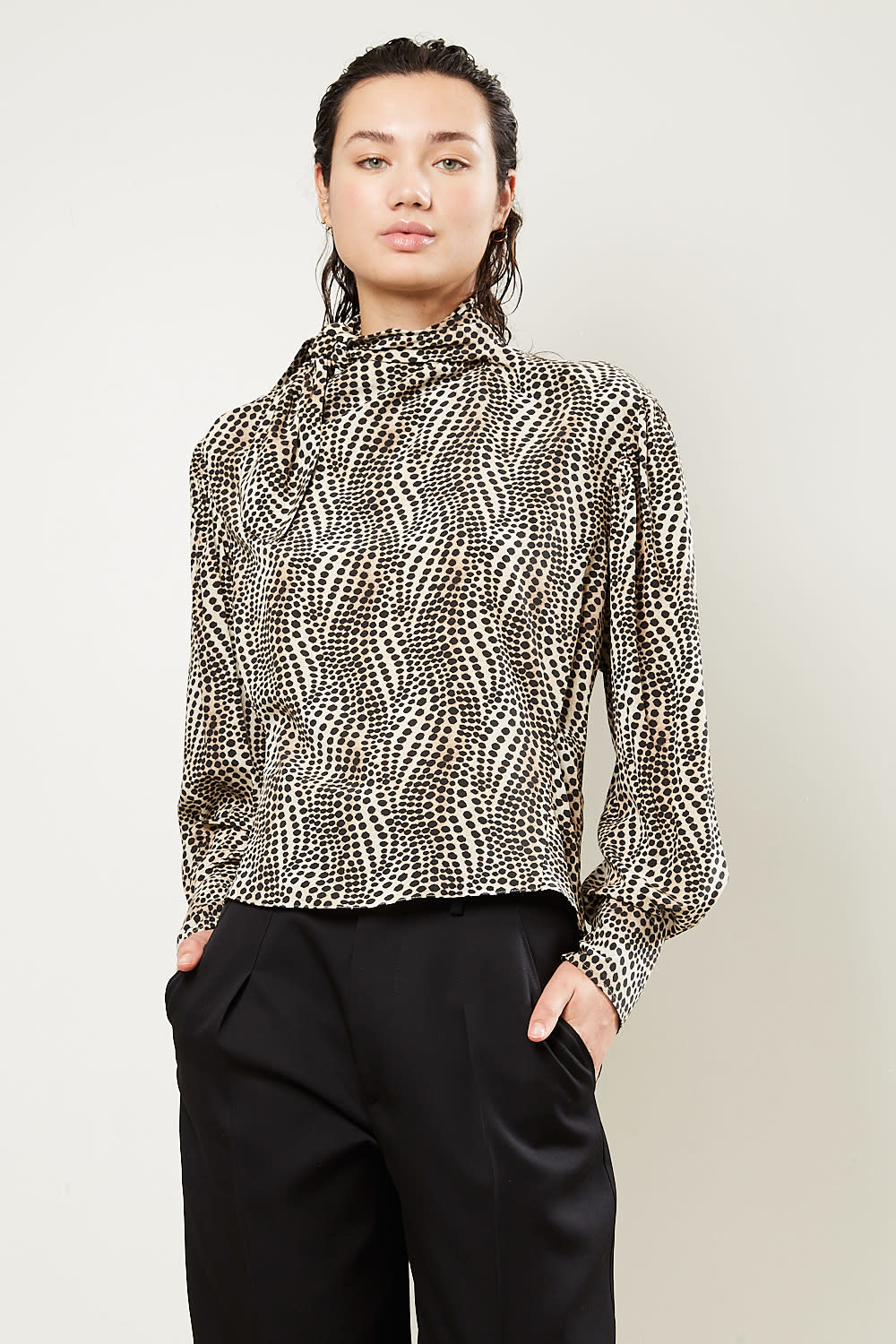 Isabel Marant Ilkeith graphic stretch top
